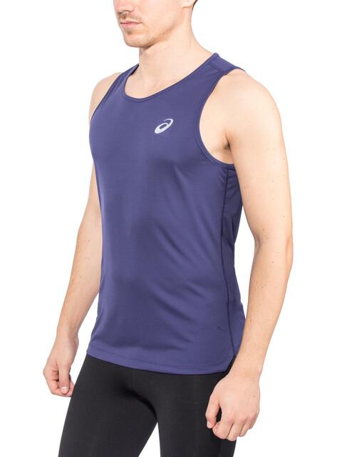 asics Silver - Camiseta sin mangas running Hombre - azul